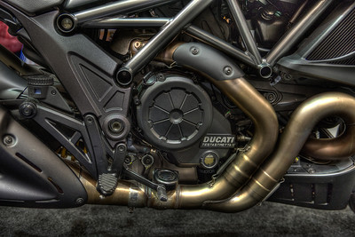 Ducati Diavel ... as displayed: $24,000. If you have to ask ...