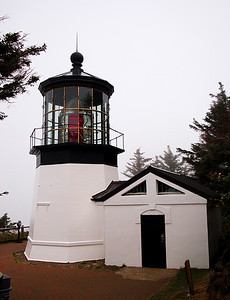 There are a lot of neat lighthouses along the coast.