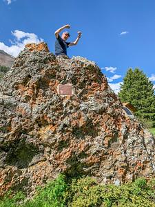 Silver Gate Montana  - The Big Rock!