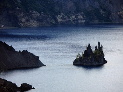 Crater Lake: Phantom Ship Island.
