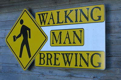 Stevenson, WA - Walking Man Brewing is closed - sadly.