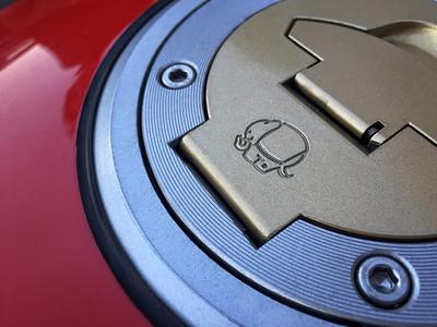 Gas Cap on Nick's Ducati Supersport