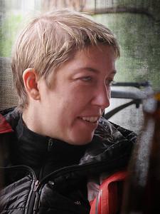 Carolyn - My daughter. Ducati Monster 796