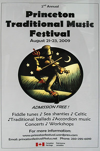 Princeton: Poster for the festival. I liked the graphic!