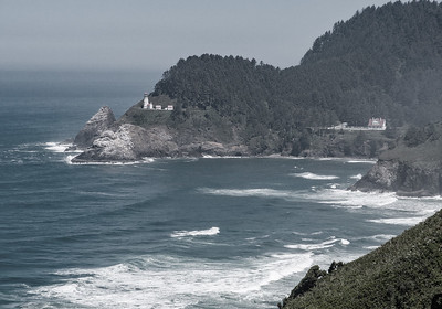 Heceta Head Lighthouse and Lighthouse Keepers B&B
