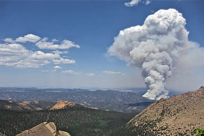 Not my photo: Grab from Internet news photos. Near Estes Park.