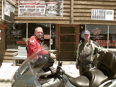 Cowboy/biker bar in Hartsel. I guess bikers are the new cowboys.