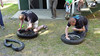 Tire changing race, winner took it in 3 minutes, 19 seconds