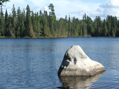 Rabbit Blanket Lake in Lake Superior Provincial Park, Ontario, Canada