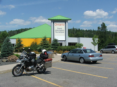 Ontario Welcome Center at the Pigeon River border crossing