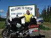 Border of the Yukon Territory