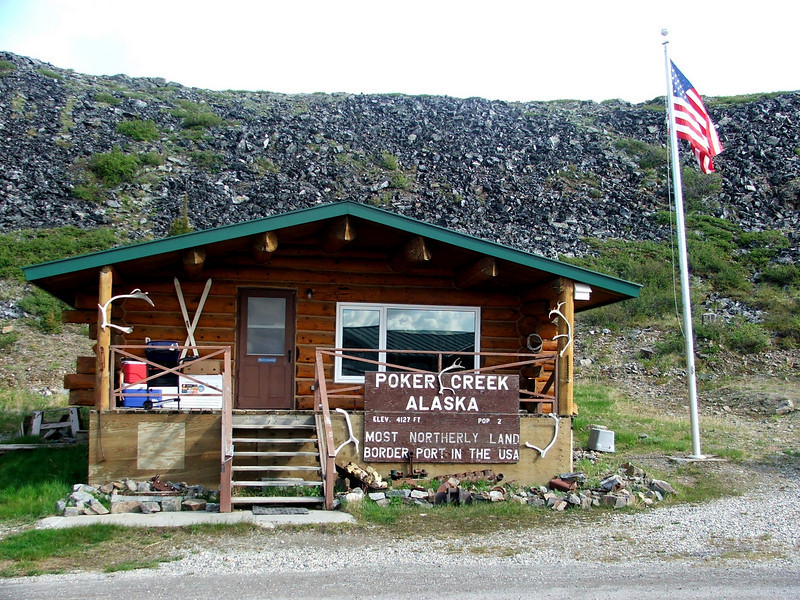 Poker Creek Border Crossing, AK