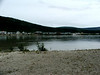 Dawson City from the other side of Yukon River