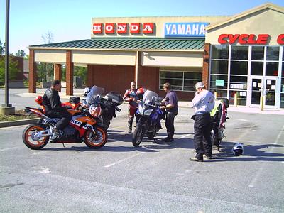 Meeting at Cycle City