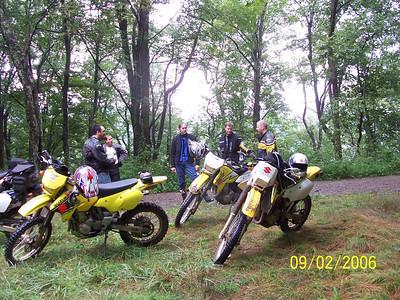 2006.09.02 - N. GA - Dan & Tony DRZ