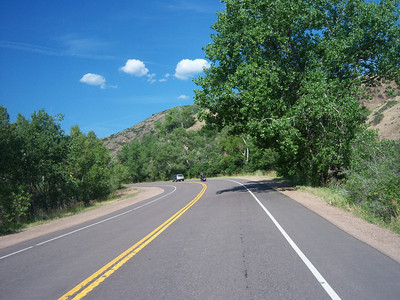 Day 1 - Highlands Ranch, CO to Rawlins, WY - 348 miles
