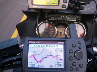 Day 11 - Medford OR to Reno NV - 535 miles