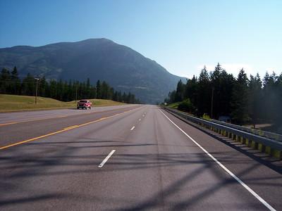 Day 5 - Kallispell MT to Radium Hot Springs BC - 407 miles