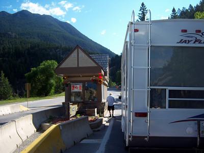 Day 6 - Radium Hot Springs BC to Valemount BC - 310 miles