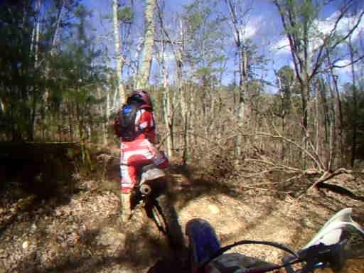 Trail #17 - part1  Pat, Tom, Yorkie, & I