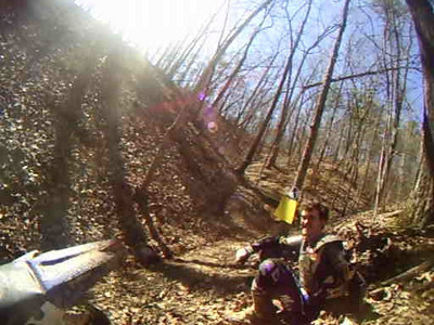 Trail #17 - Part 12 - Yorkie's #3 try and Josh comes down to visit us mortals that can't make the hill.