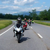 Sarah and I lead a group ride up to Deals Gap.  I break in my Dad's '10 BMW RT.