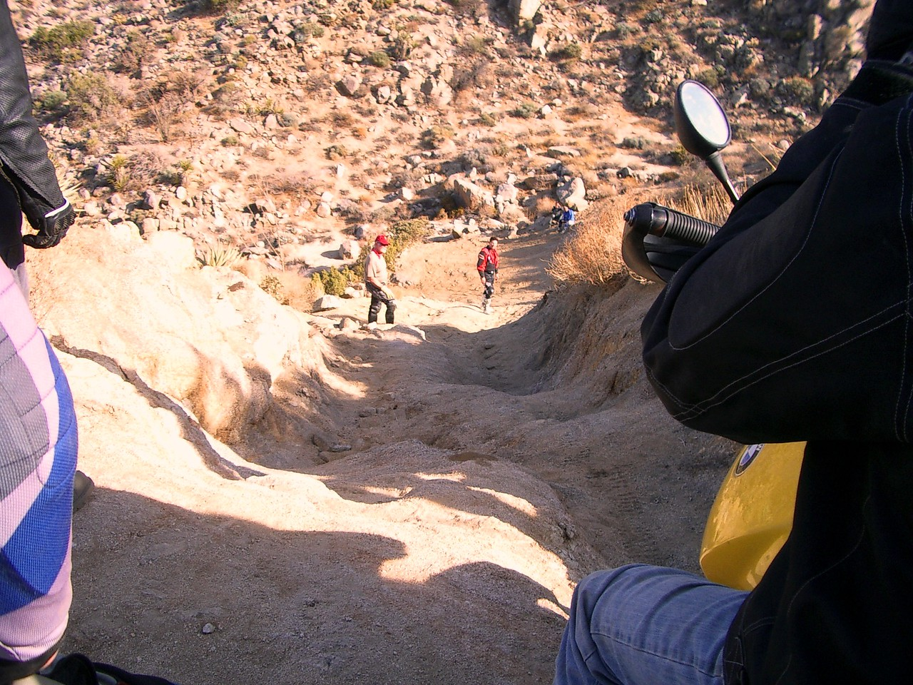 """This was the scariest hill I'd ever seen. It wasn't called """"The Drop-Off"""" for nothing."""