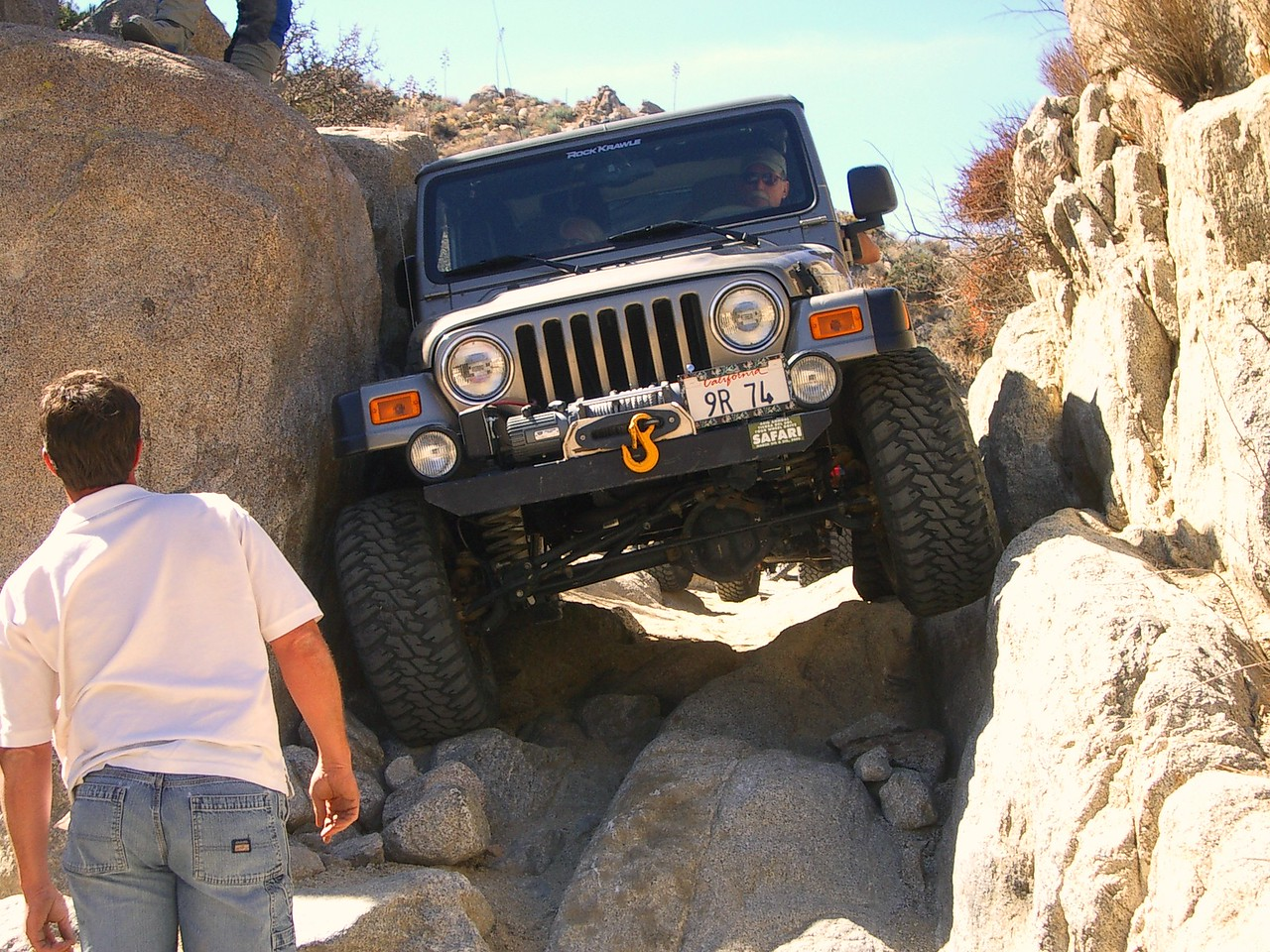A bit of a squeeze for the jeeps.