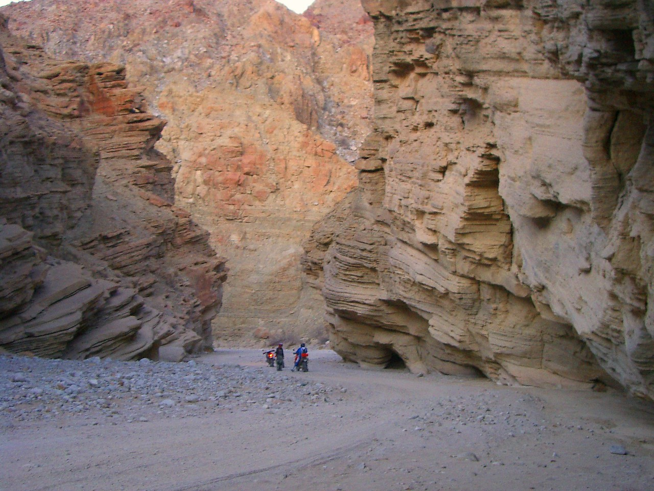 One of the beautiful canyons we rode through.