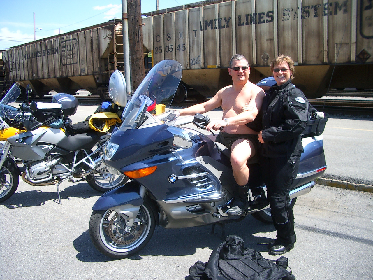 Phil always wanted to attend a nudist's ride.