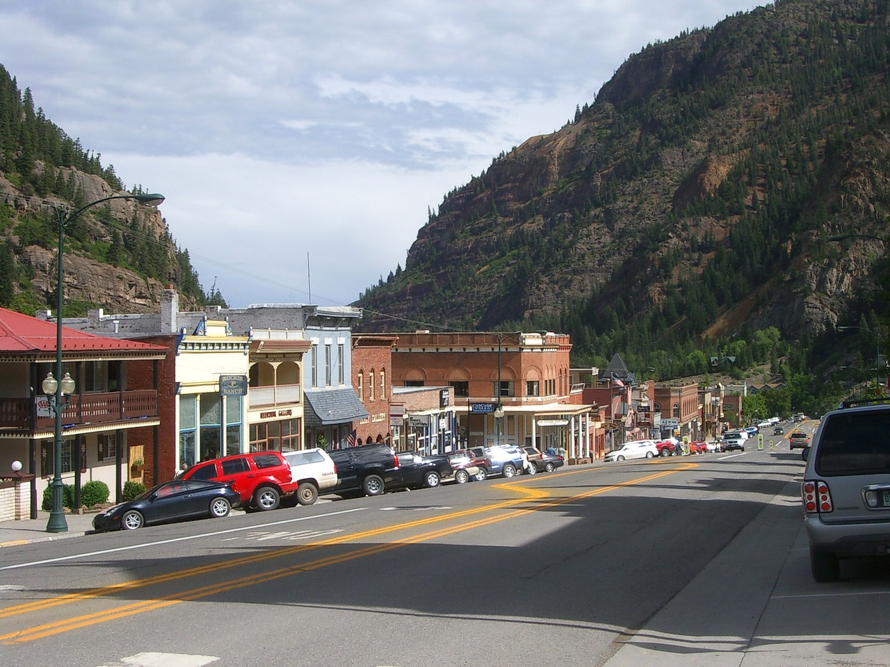 Ouray was another little town with tons of old buildings and character.