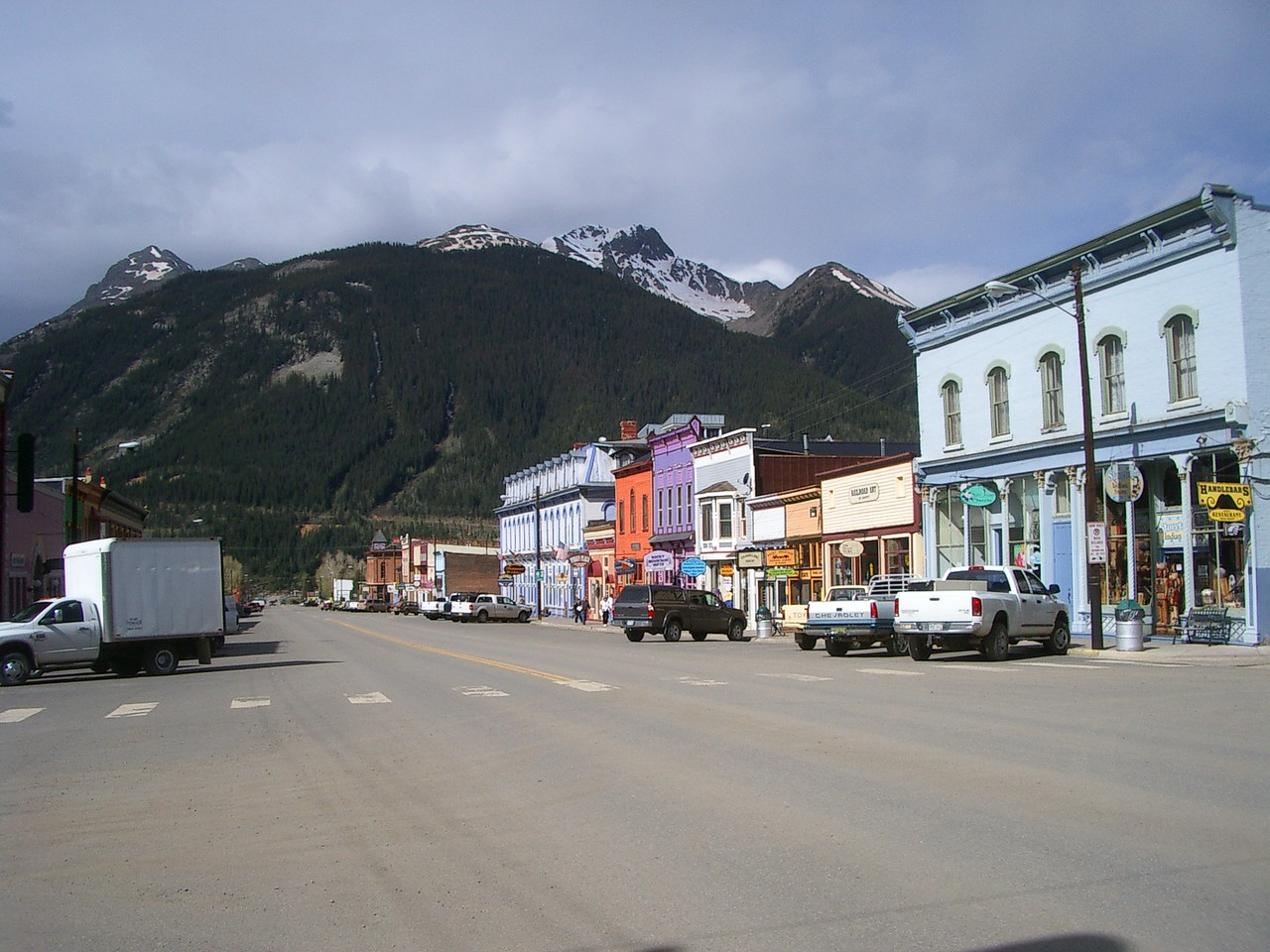 Another view of main street.
