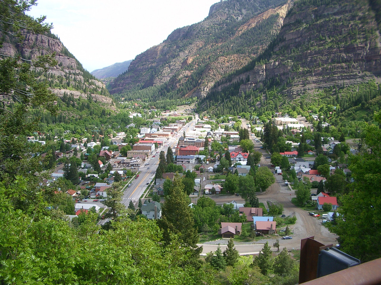 Descending into Ouray.
