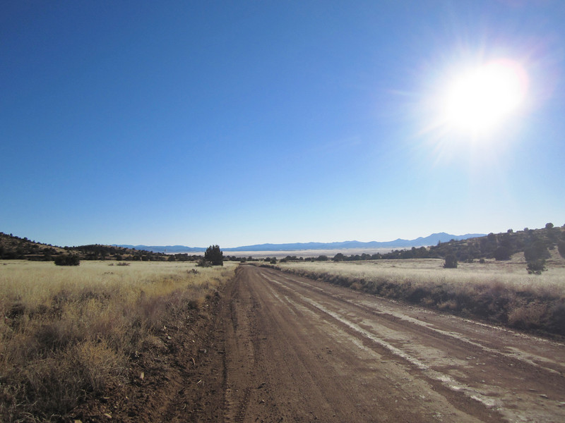 What a feeling to be riding in the wide open spaces of Arizona again.