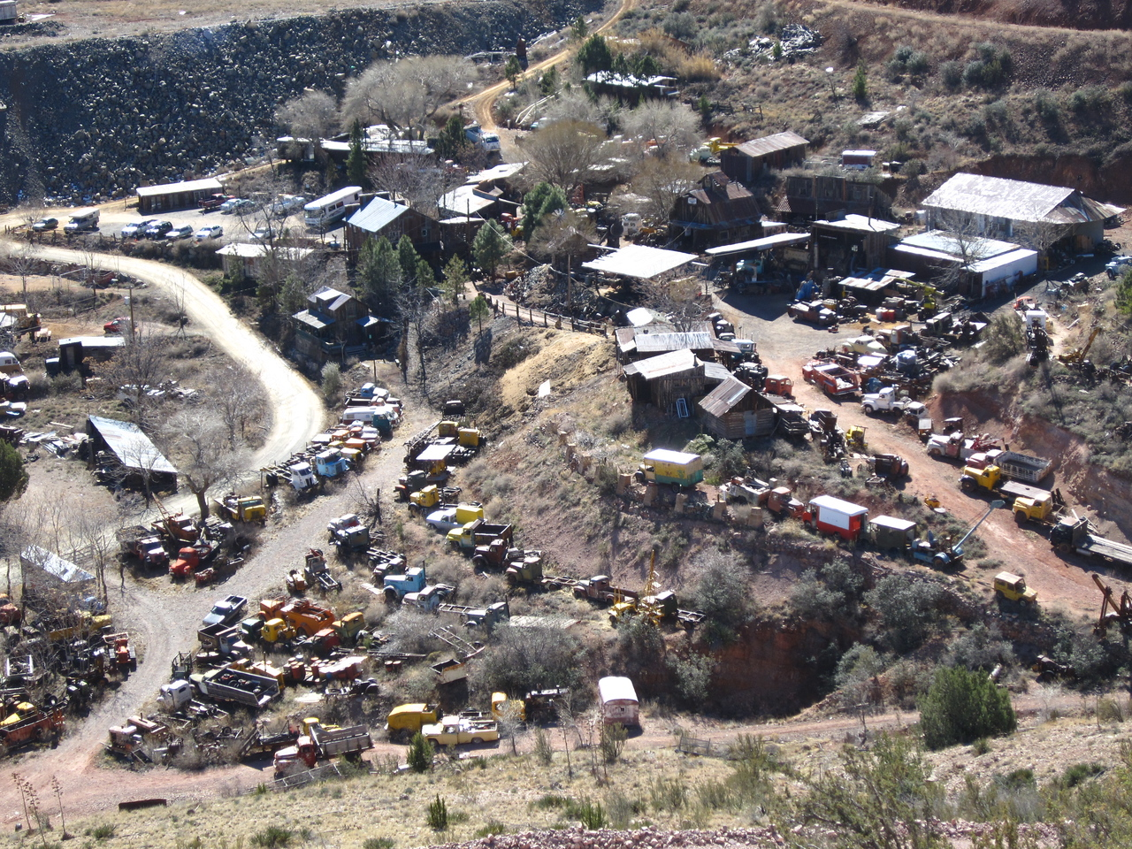 A mining ghost town just outside of Jerome AZ.