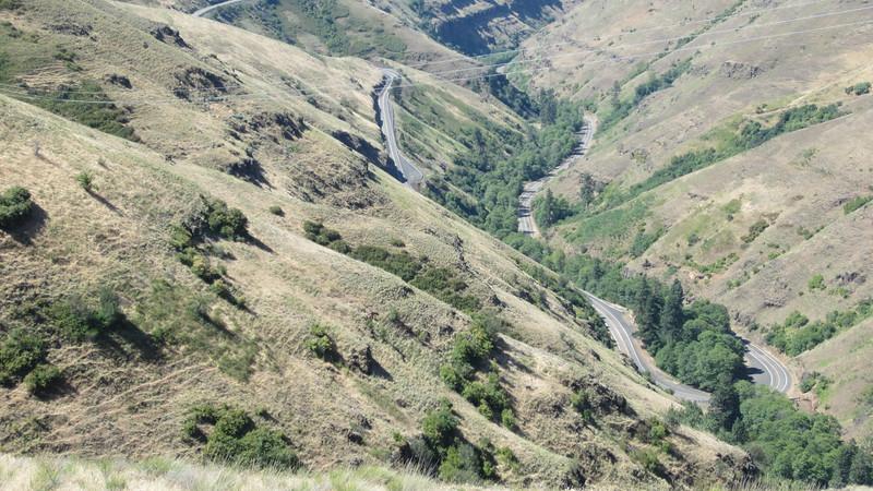 Rattlesnake Canyon Road.