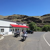 A rest stop at Boggan's Oasis on the Grande Ronde River.