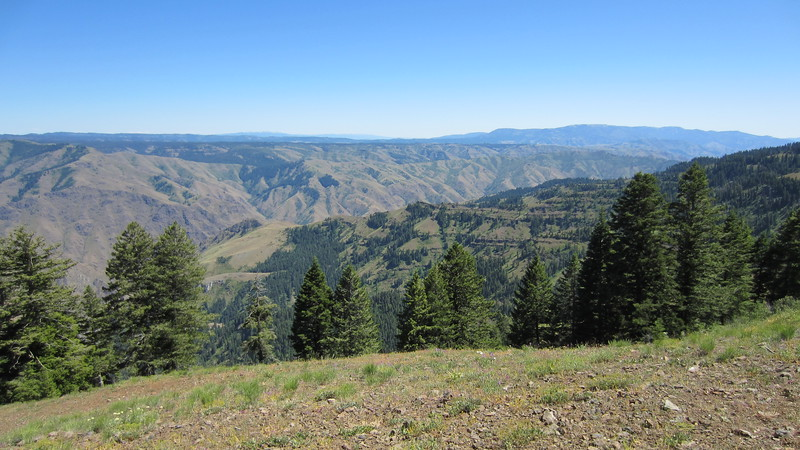Hells Canyon - Oregon.  Idaho on the other side.