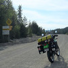I left Kelowna riding up Hwy 33 to the Big White road turn off, then turned off onto FSR 201.