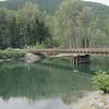 Lardeau River at the entrance to Trout Lake.