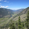 Looking west down the Similkameen Valley towards Hedley.