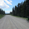 Good gravel road across the top on Hedley-Nickel Plate Road.