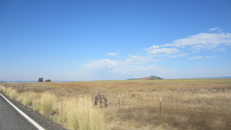 The high plains of central Washington.  Hwy 97 near Goldendale.