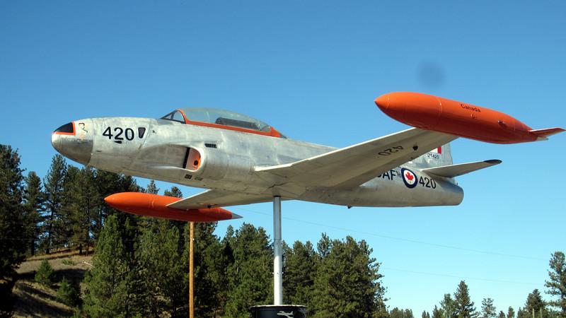Canadair CT133 Silver Star - Princeton Airport