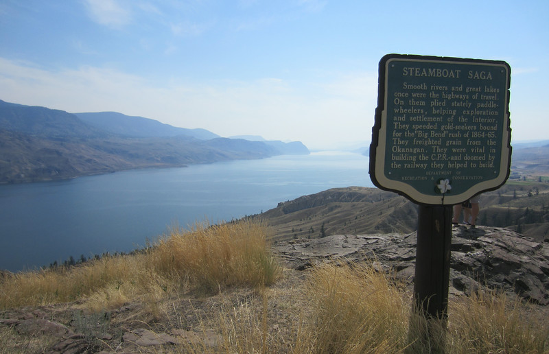 A rest stop overlooking Kamloops lake.  We ran into a couple of fellows from Bella Coola who gave us some good intel on things to see in the area.