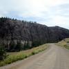 The road took us past more Hoodoos at Castle Rock Hoodoos Provincial Park.