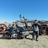 John and some more old machinery.