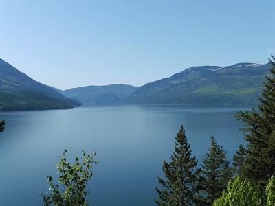 May 3rd - Return from Kamloops via Adams Lake