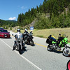 The Kaslo Camp 'n' Ride was a Valley BMW Riders event that also served as the jumping off point for our Kootenay excursion.  Day one, Friday, had John, Diane and I heading for Kaslo.