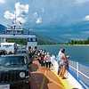 Aboard the Balfour-Kootenay Bay Ferry crossing Kootenay Lake.  The storm is still following us.